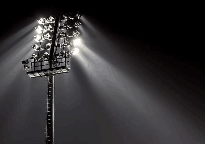 Indoor outdoor led stadium lighting system led flood lights commercial outdoor led lighting fixtures mozeypictures Choice Image